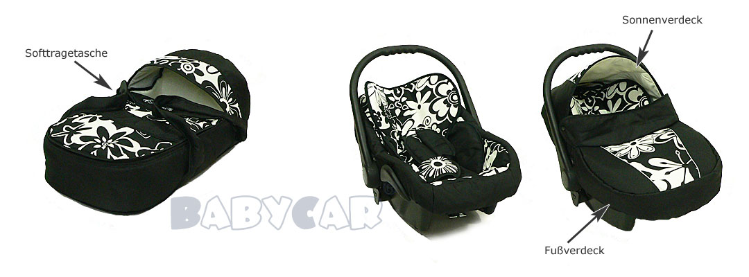 neu kombi kinderwagen 3in1 schwenkr der babyschale sonnenschirm winterfusssack ebay. Black Bedroom Furniture Sets. Home Design Ideas