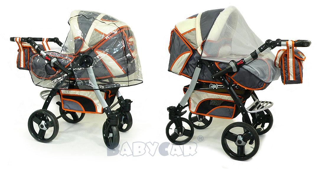 Trio carrozzina passeggino seggiolino ruote girevoli for Passeggino trio ebay