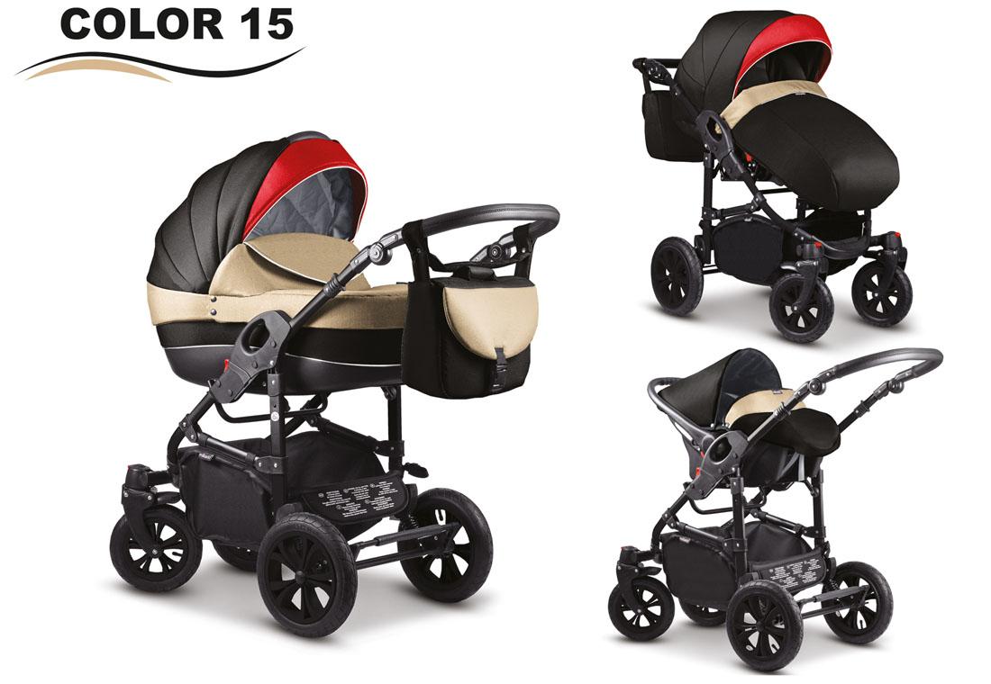 SALE Baby Pram Stroller Car seat - Pushchair 3in1 Buggy swivel ...